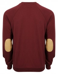 Warrier-burgandy-sweater-back