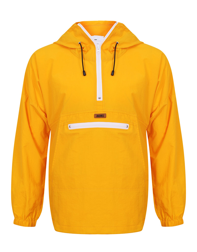 Durkl - Kayak Windbreaker Jacket Yellow - Zimzilla