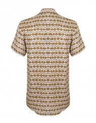 Brush-native-short-sleeve-shirt-ochre-back